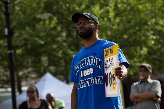 Baltimore olaylarının yıldönümü 1
