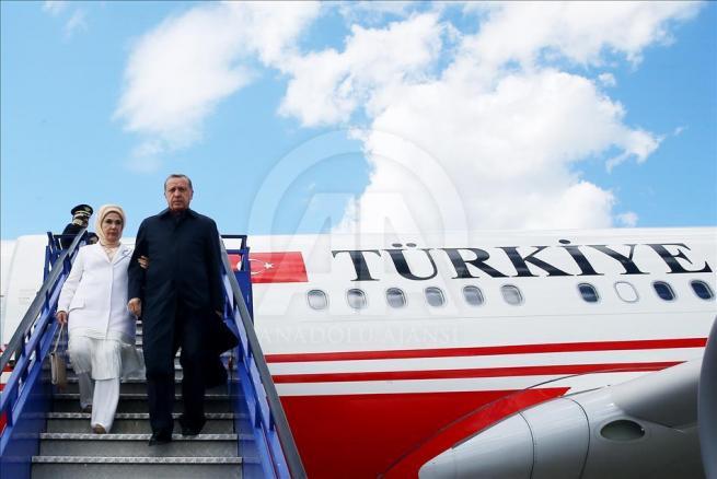 Cumhurbaşkanı Erdoğan, Hırvatistan'a geldi 2