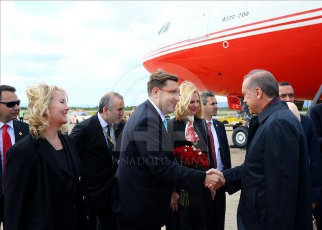 Cumhurbaşkanı Erdoğan, Hırvatistan'a geldi 3