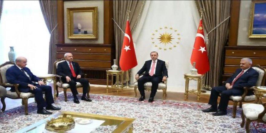 Cumhurbaşkanlığı Külliyesi'nde tarihi toplantı