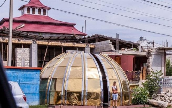 Çingenelerin muhteşem evleri 6