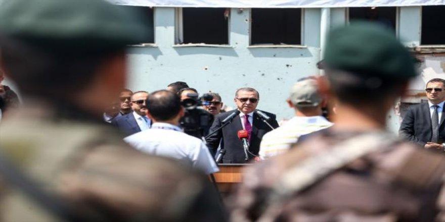 Cumhurbaşkanı Erdoğan, Özel Harekat Daire Başkanlığı'nı ziyaret ett