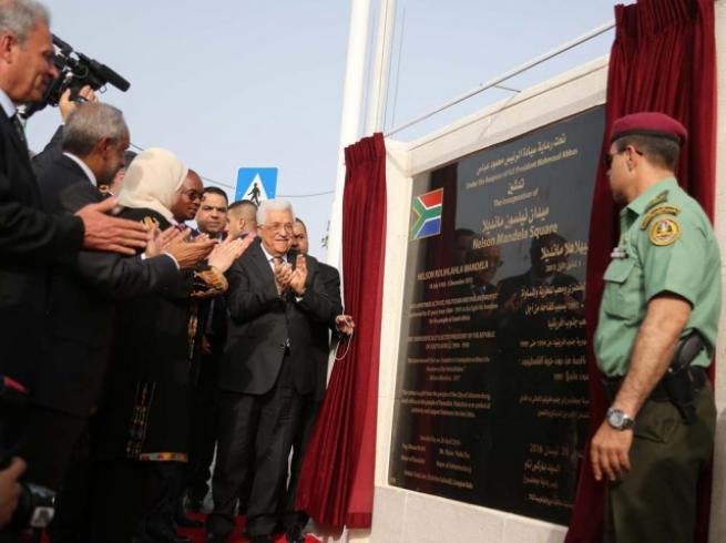 Filistin'de 'en büyük' Mandela heykeli 7