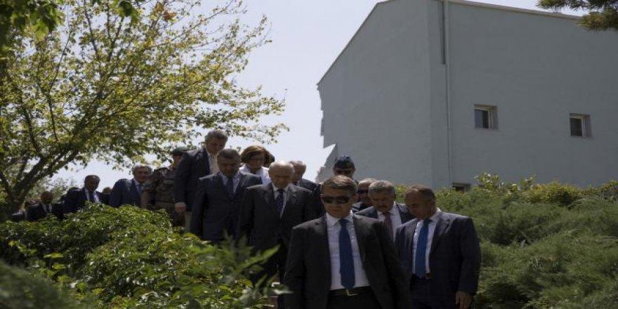 Devlet Bahçeli Özel Harekat Daire Başkanlığı'nı ziyaret etti