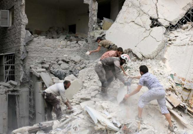 Esed rejimi yine sivilleri vurdu 1