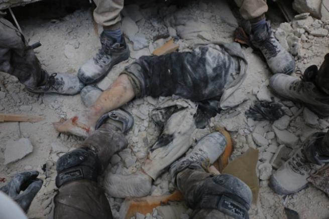 Esed rejimi yine sivilleri vurdu 3
