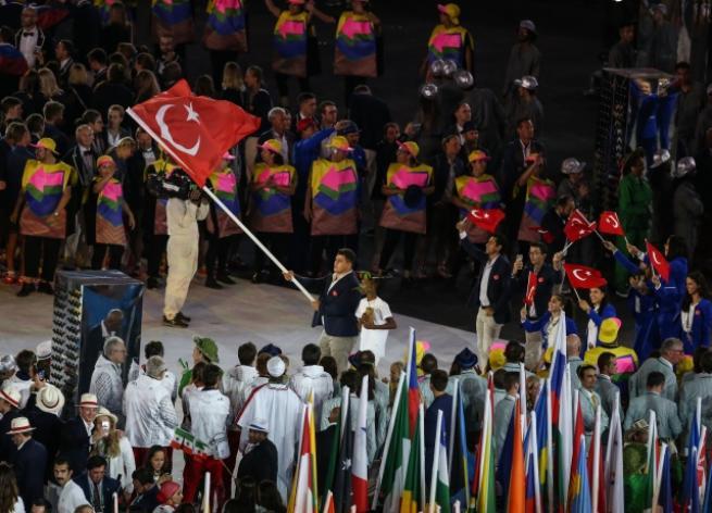 Rio Olimpiyat Oyunları açılış töreni 1