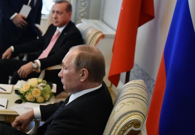 Putin Erdoğan'ı böyle karşıladı 1