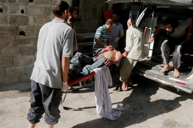 Halep'de insanlık ölüyor! 1