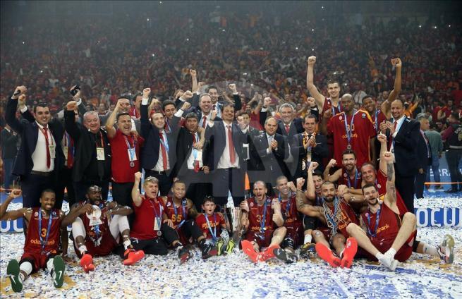 Galatasaray Odeabank ULEB Avrupa Kupası Şampiyonu 25