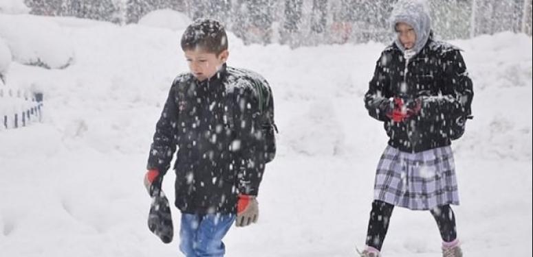 Okullar açılmadan tatil oldu!