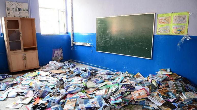 Terör saldırıları 111 okulda eğitimi aksattı!