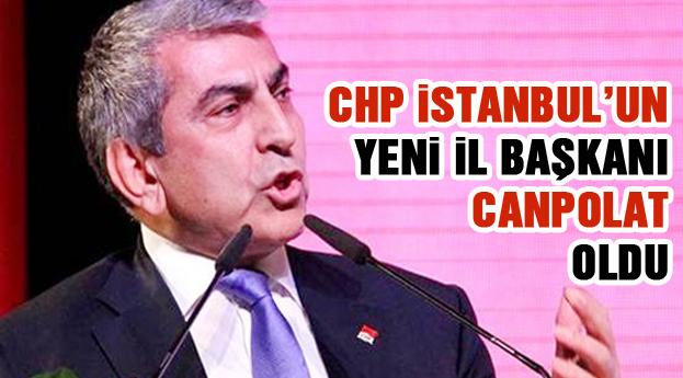 CHP'nin yeni İl Başkanı Canpolat