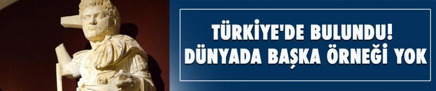Türkiye'de bulundu! Dünyada başka örneği yok