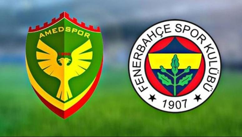 Fenerbahçe-Amedspor karşılaşmasından beraberlik çıktı