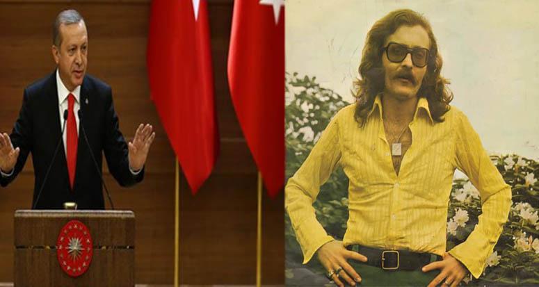 İşte Erdoğan'ın söylediği o şarkı!