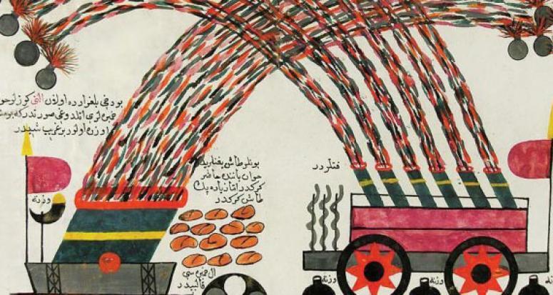 İlk roketi Osmanlı icat etmiş!