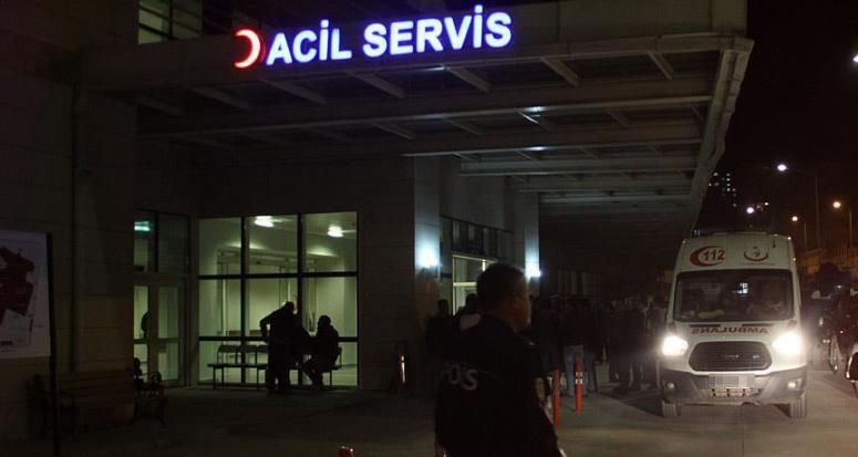 Polis aracına roketatarlı alçak saldırı: 1 şehit
