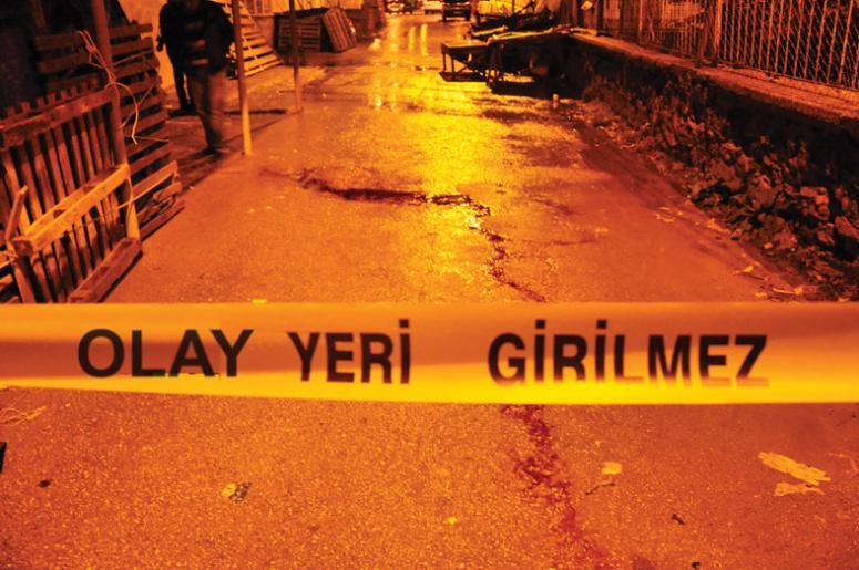 İstanbul'un göbeğinde dehşet!