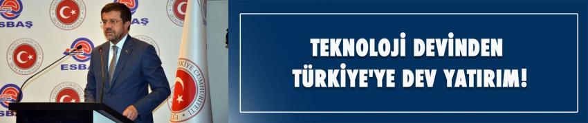Teknoloji devinden Türkiye'ye dev yatırım