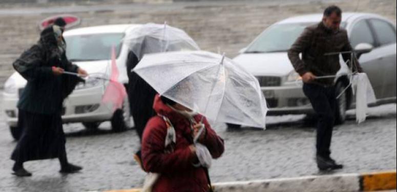 Meteorolojiden 'kuvvetli fırtına' uyarısı