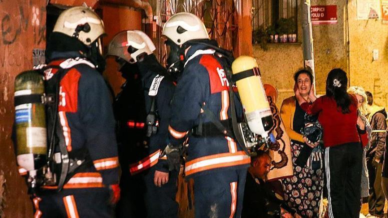 Suriyeli 2 çocuk yanarak can verdi!