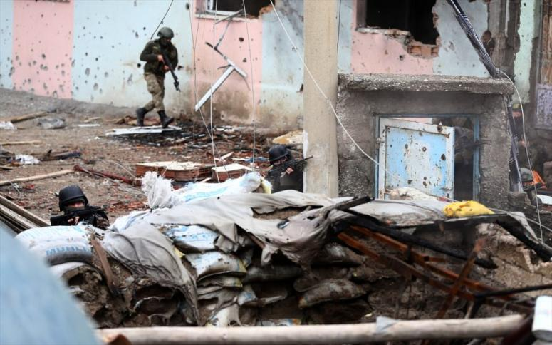 PKK'ya bir ağır darbe de Sur'da!