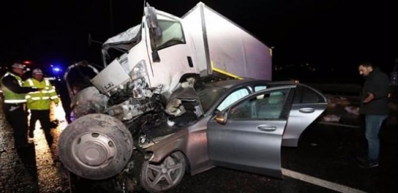 İstanbul'da korkunç kaza: 3 yaralı!