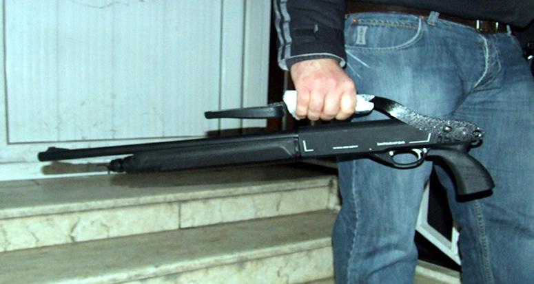 Bursa'da pompalı tüfek dehşeti