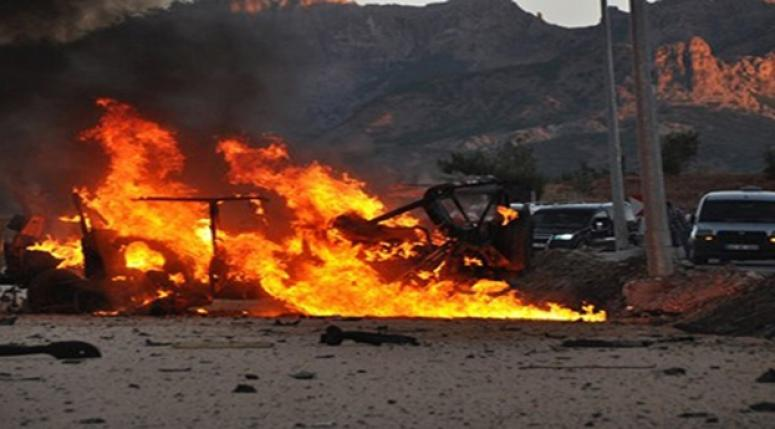 Mardin'de bomba yüklü araç alarmı!