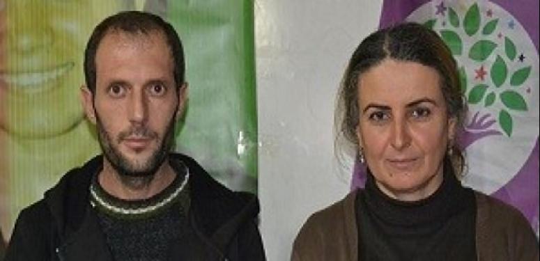 Çukurca'da HDP ve DBP eş başkanlarına gözaltı