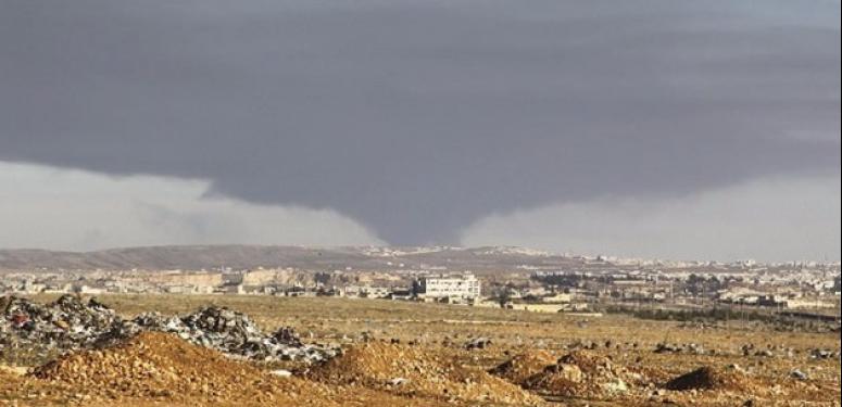 Rejim Halep'in kuzeyinde ilerliyor