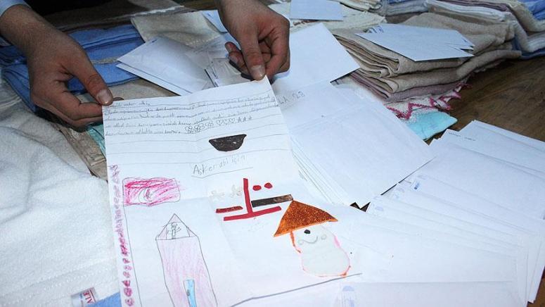 Trabzon'dan Mehmetçiğe 10 bin mektup