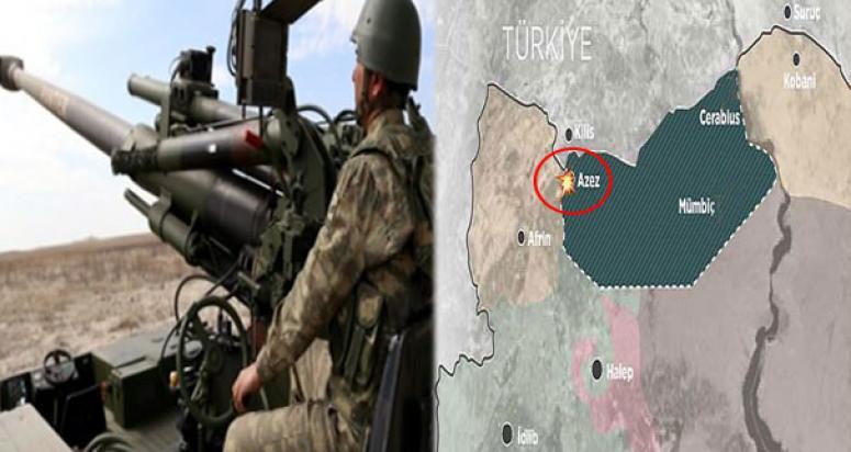 Türkiye'nin PYD mevzilerini vurması dünya basınında