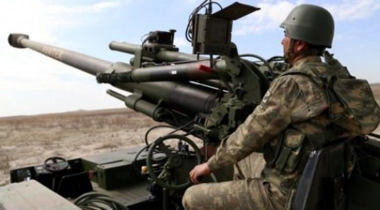 Türkiye PYD mevzilerini vurdu