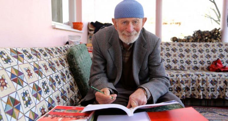 71 yaşında üniversite sınavına hazırlanıyor