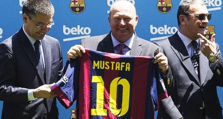 Barcelona'dan Mustafa Koç için taziye mesajı!