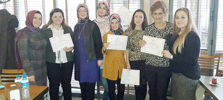 Pursaklar'da 12 kadın daha muhasebe sertifikası aldı