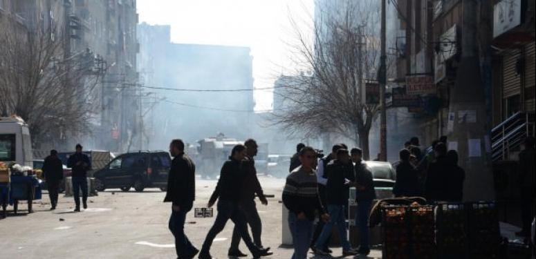 Diyarbakır'da olaylı Öcalan protestosu