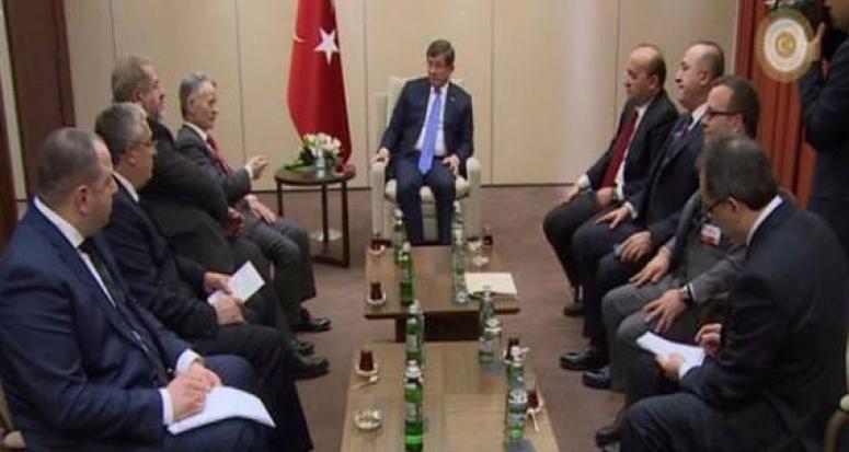 Davutoğlu, Kırım Tatarlarının Lideri ile görüştü