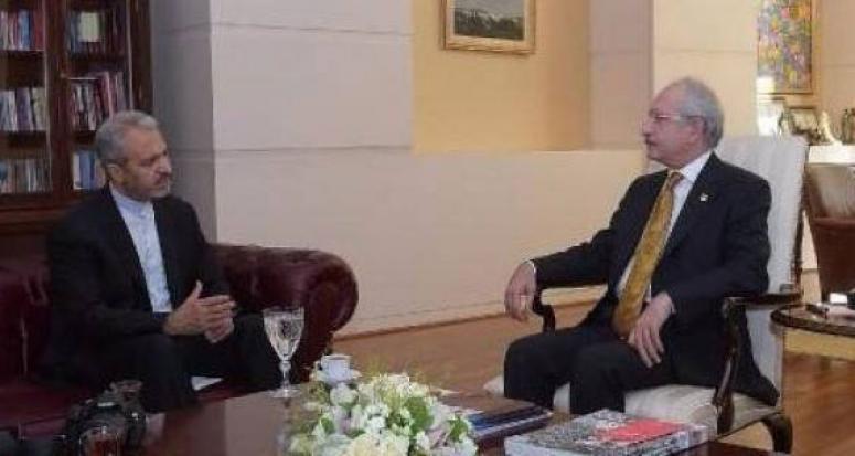 Kılıçdaroğlu İran Büyükelçisi'yle bir araya geldi