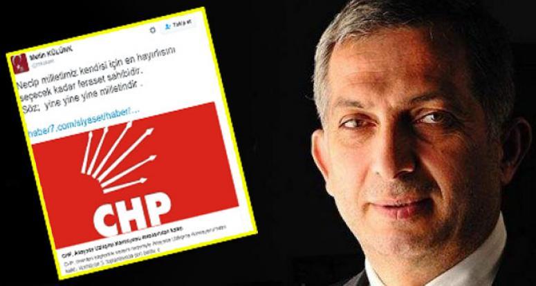 CHP'nin uzlaşmaz tavrı sonrası Külünk'ten seçim çağrısı