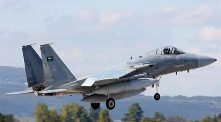 Suudi uçakları DAEŞ'i ilk kez vurdu