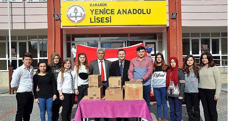 Terör ile mücadeleye Karabük'ten destek