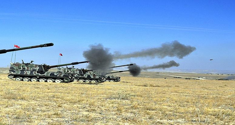 YPG'ye top atışı yeniden başladı!