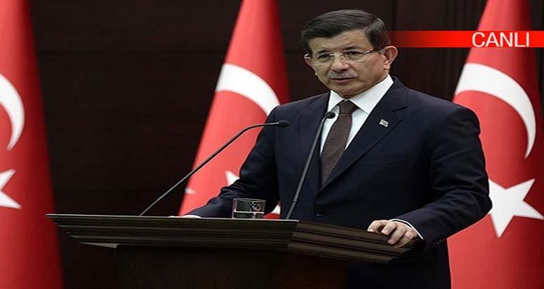 Davutoğlu: 'Bunu yapan YPG adlı terör örgütüdür!'