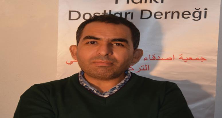 Filistin Halkı Dostları Derneği Başkanı 'hain saldırıyı yapanları lanetliyoruz'