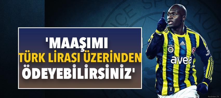 Fenerbahçeli Sow'dan Erdoğan'a destek! 'Maaşımı Türk Lirası üzerinden...'