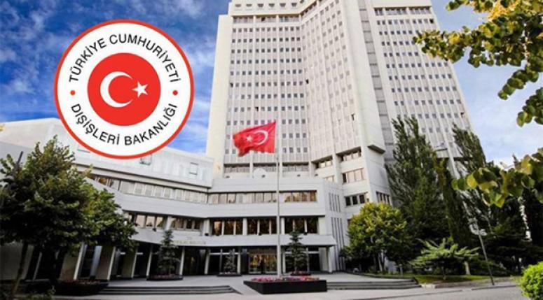 5 ülkenin Büyükelçileri Dışişleri'ne çağrıldı