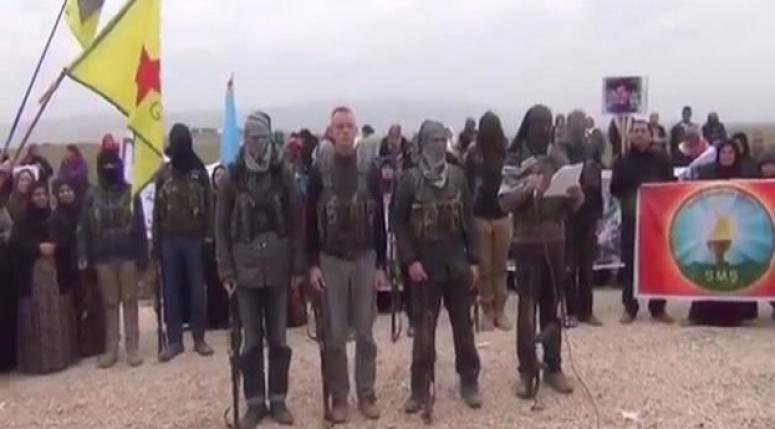 PYD'den 'Türkiye'ye karşı savaşın' videosu!